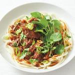 Лапша с тушёной говядиной по-китайски в медленноварке