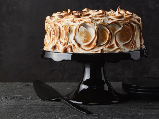 Фото Тыквенный торт «Смор»