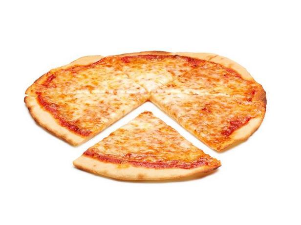 Фото Тонкая и хрустящая пицца
