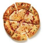 Пицца с коркой, начинённой сливочным сыром и перцами халапеньо