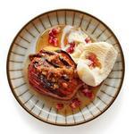 Яблоки Хассельбак с инжиром