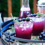 Виноградно-ванильная газированная вода