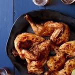 Курица с перцем серрано в духовке