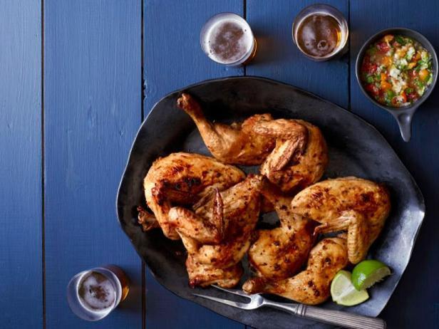 Фото Курица с перцем серрано в духовке