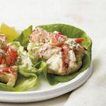 Салат с омарами