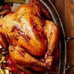 Курица с травами в духовке