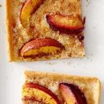 Персиково-имбирный тарт