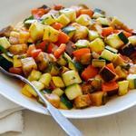Рататуй из сезонных овощей