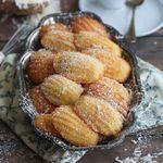 Кокосовое печенье «Мадлен»