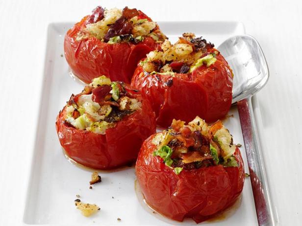 Фото Фаршированные помидоры с начинкой «БЛТ»