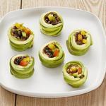 Овощные роллы с авокадо