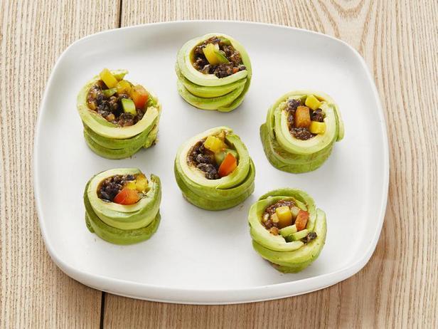 Фото Овощные роллы с авокадо