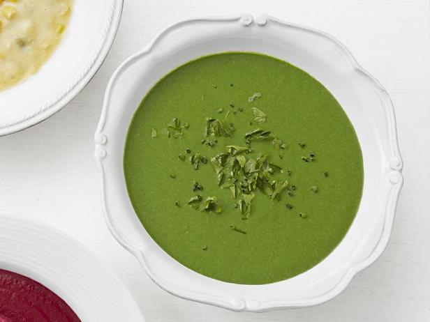 Фото Крем-суп со шпинатом