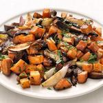 Печёные осенние овощи