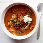 Суп «Лазанья»