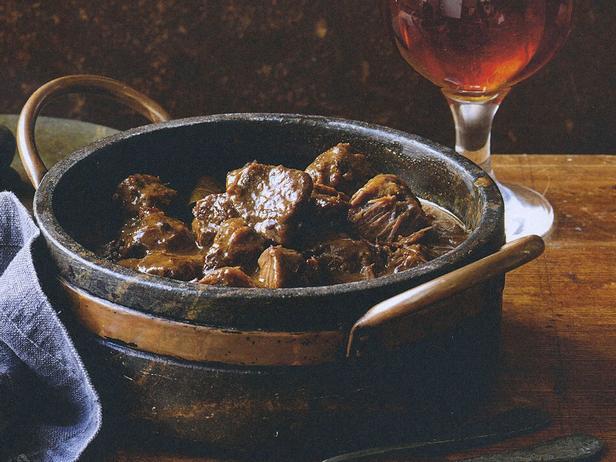 Фото Пот-роуст из говядины в пивном соусе