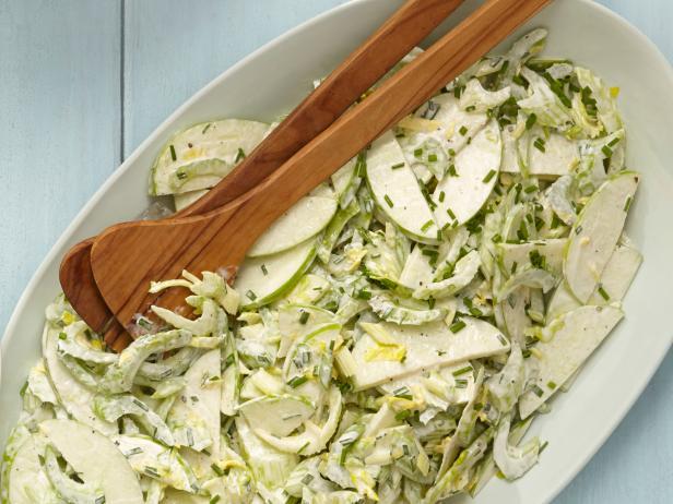 40. Яблочный салат