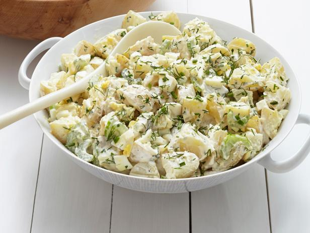 44. Нежный картофельный салат