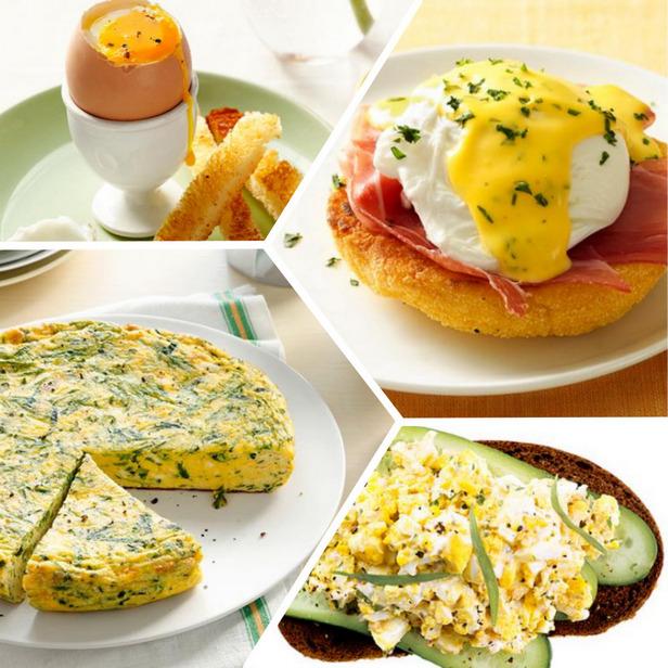 Фото 50 рецептов из яиц