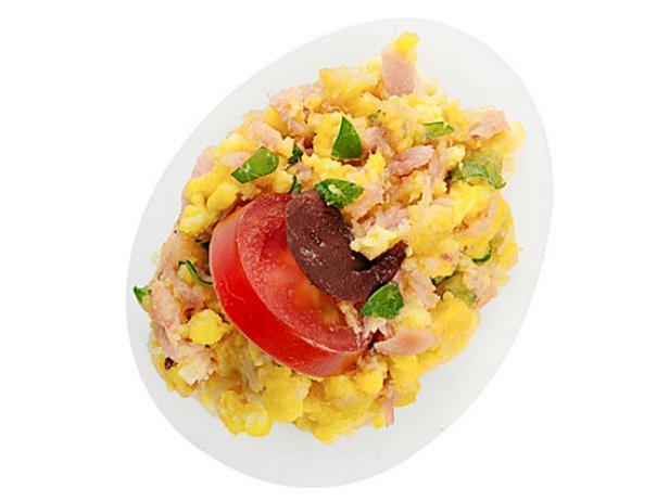 45. Фаршированные яйца Нисуаз