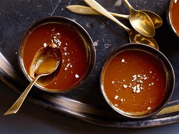 Фото По-де-крем с солёной карамелью