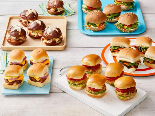 Фото 50 рецептов слайдер-сэндвичей
