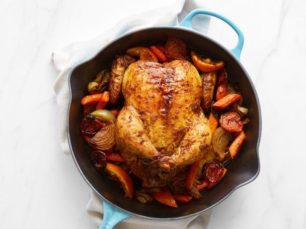 Фото Запеченная курица целиком: варианты приготовления