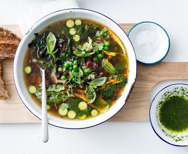 Фото Французский суп «Писту»