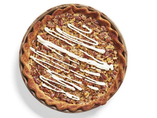 Фото Пекановый пирог с корицей