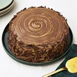 Шоколадно-карамельный торт «Пенёк»
