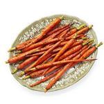 Морковь, запечённая с зирой и кориандром