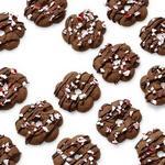 Шоколадно-мятное печенье из шприц-пресса