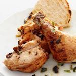 Запечённая курица в духовке кусочками