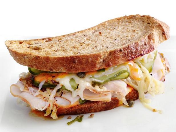 Фото Сэндвичи «Рубен» с индейкой