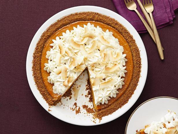 Фото Тыквенно-кокосовый кремовый пирог