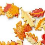 Сахарное печенье «Листья»