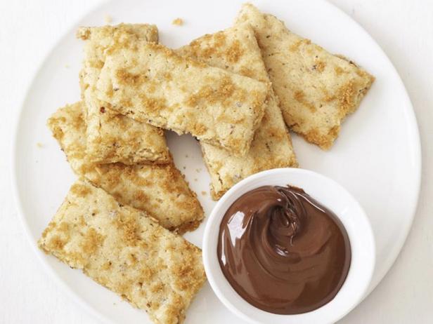 Фото Ореховое печенье с фундуком