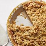 Классический яблочный пирог-крамбл