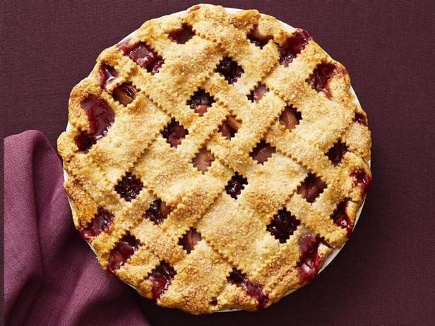 Фото Вишнёво-яблочный пирог