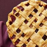 Вишнёво-яблочный пирог