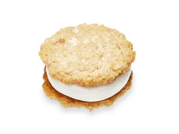 Фото Кокосово-овсяное сэндвич-печенье