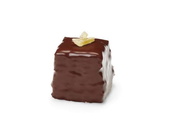 Фото Шоколадно-имбирные кубики