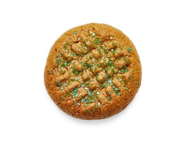 Фото Арахисовое печенье без муки