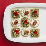 50 рецептов закусок с крекерами
