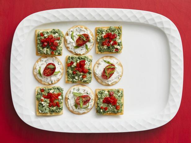 Фото 50 рецептов закусок с крекерами