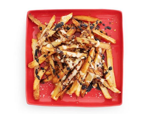 Картофель фри с бальзамическим соусом