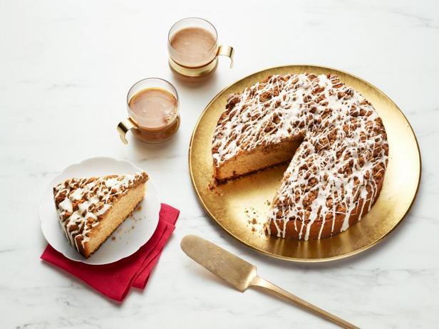 Фото Кофейный пирог с глазурью из эгг-нога