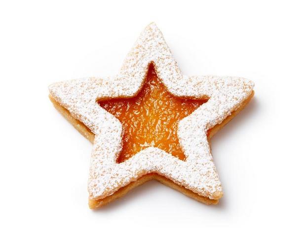 Фото Линцское печенье с макадамией и тропической начинкой