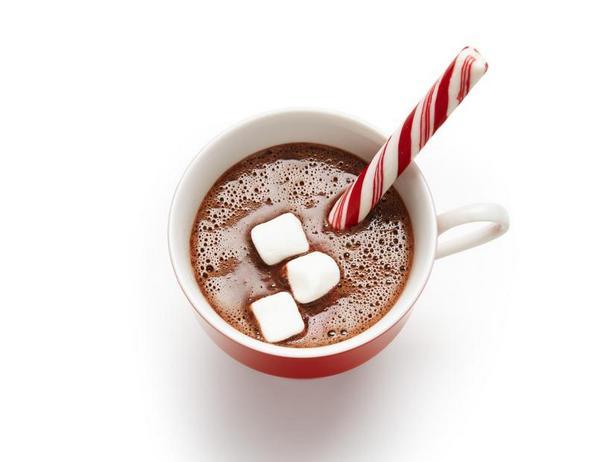 Фото Праздничный горячий шоколад