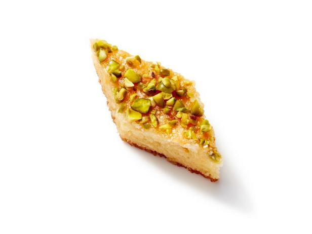 Фото Апельсиново-фисташковое пирожное из теста фило